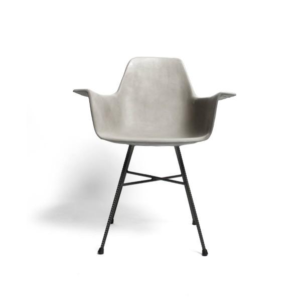 Sessel aus Beton HAUTEVILLE