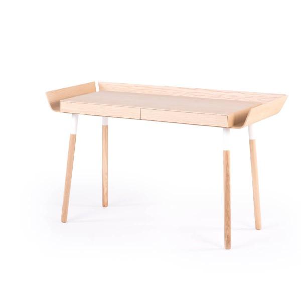 Schreibtisch mit zwei Schubladen MWD Esche