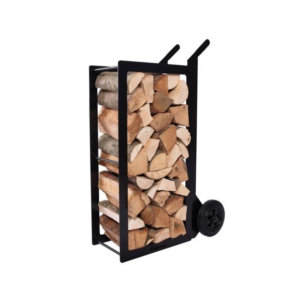 Holzstapler mit Transportkarre WOODSTOCK