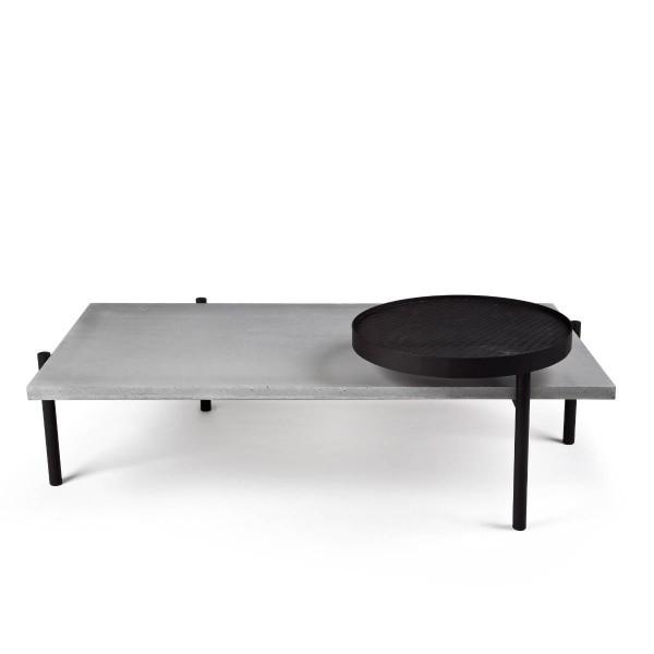 Couchtisch mit drehbarer Tischplatte TWIST