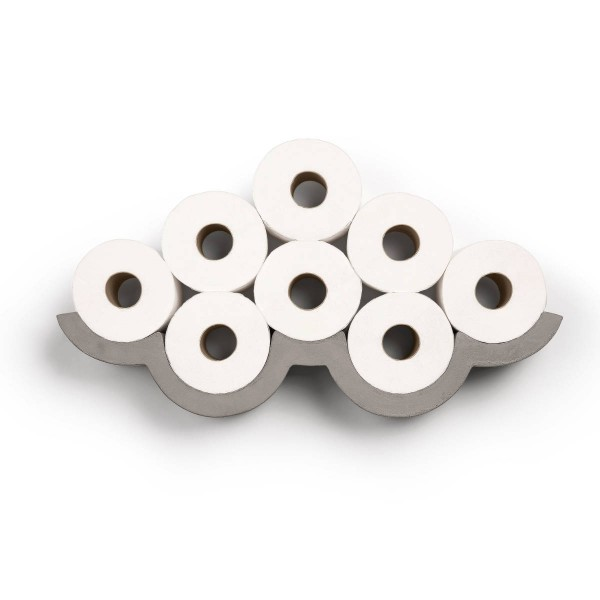 Toilettenpapierhalter aus Beton CLOUD